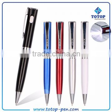 flashing 6 led pen light ballpoint pen with stylus                                                                                                         Supplier's Choice