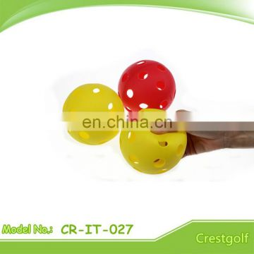 73mm plastic 26 hole Floor Ball