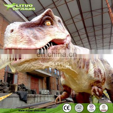 Indoor / Outdoor Amusement Park Products moving dinosaur T-Rex