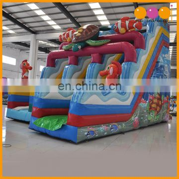 Professional supplier Ocean undersea theme water slide for kids toy