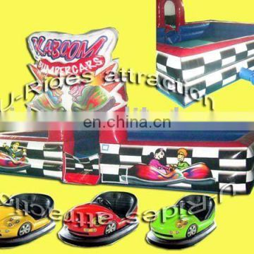 Amusement Battery Bumper Car Games for kids or adults