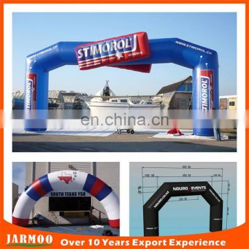 Air bow air-sealed Inflatable Arch, entrance arch door