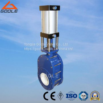 Pneumatic Ceramic Swing Feed Valve (GZD644TC)