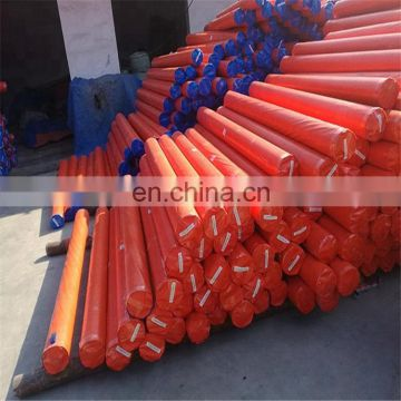 80-300g weight woven PE Tarp Roll, Orange Plastic Tarpaulin Roll