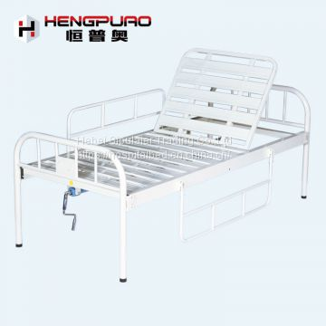 manual crank adjustable hospital bed with factory prices in india