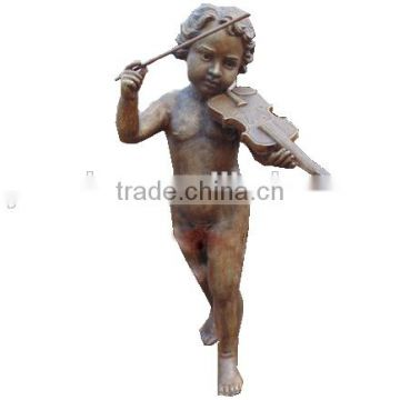 European style bronze casting angel statue for garden decoration