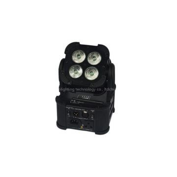 4X12W 6IN1 Battery Powered & Wireless DMX LED Stage Light