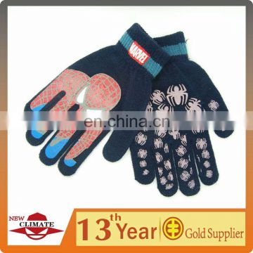 Offset printing magic glove,PVC dotted gloves,anti-slip gloveschildrens cartoon magic gloves