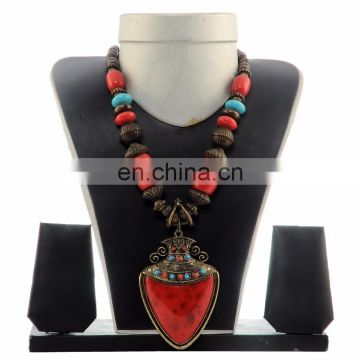 Indian Banjara Beded Necklace- Fashion Costume Jewellery Set
