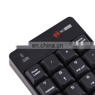 2 in 1 2.4G USB Numeric Wireless Keyboard