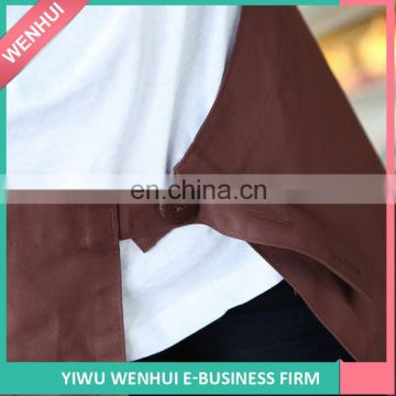 Factory Supply simple design hairdressing aprons with many colors