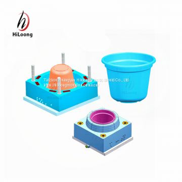 plastic injection mould taizhou flower pot mould