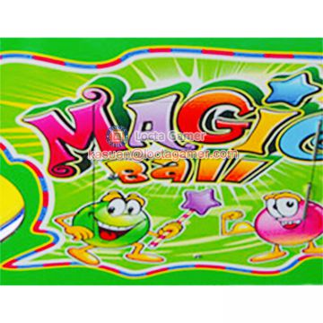 Zhongshan Locta amusement redemption equipment, Magic Pinball for kids, fighter game machine, coin operated, ball shooti