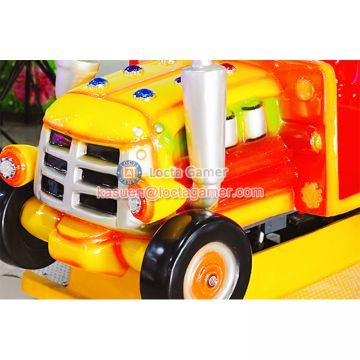 Zhongshan amusement kiddie rides Rocking Machine car 2 seat Tractor