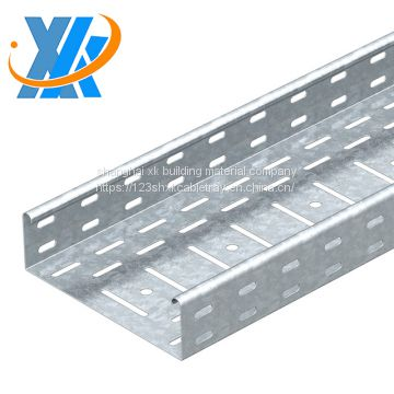 Hot Sale Wholesale Price Galvanized Steel Perforated Type Cable Tray Sizes