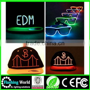 elegant in style multi color led party hats