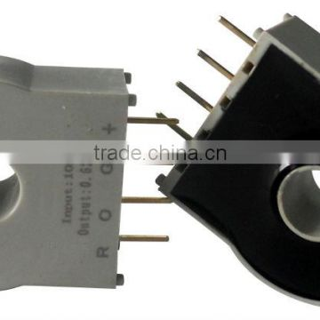 High quality single power worked Hall effect DC AC pulse current transducer / sensor, RCB45A-50 (Ipn=50A)