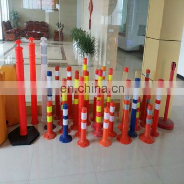 Protection Equiment Of The Warning Reflexible PU Post Bollard