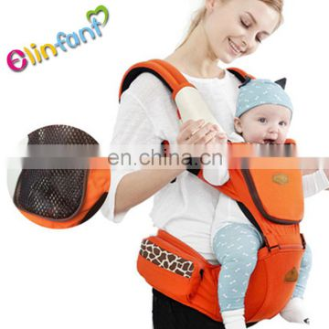 Breathable high quality hip seat pure cotton baby wrap carrier