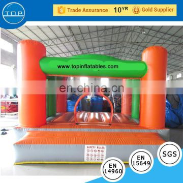 Brand new white bouncy castle with low price