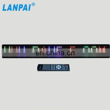 7.62mm pixels led car moving message display sign