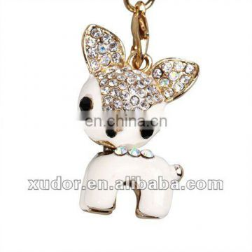White little DOG Mobilephone Accessory,mobile phone strap/charm 5614