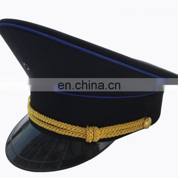 plain new style of military dress cap