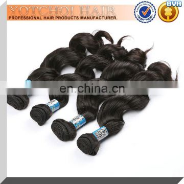 100 gram loose wave can be dyed best selling peruvian human hair weave virgin
