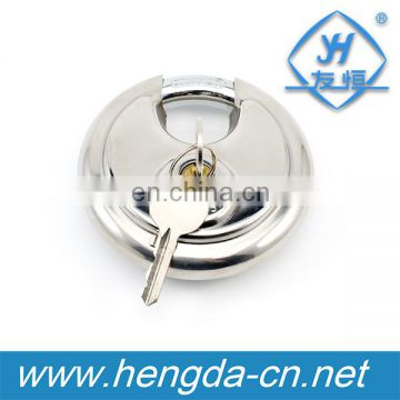 Heavy duty stainless steel disc padlock 70mm