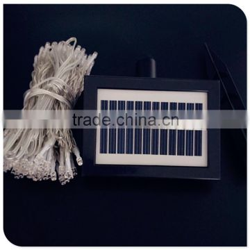 100 led warm white color flash solar street light with 8 function controller garden light outdoor use