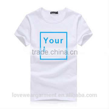 200gsm 100 cotton round neck short sleeve custom printing blank solid kids t-shirt wholesale