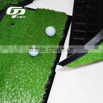Mini golf hitting mat