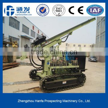 Best sale!CE Certificate,quality ensure!Hot sale!Economical and practical!HF115Y rotary-percussive drilling rig