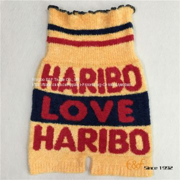 Children Fluffy Yarn Knitted Haramaki Short Pants of