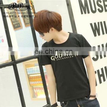 Peijiaxin Fashion Design Casul Style High Quality Cotton Tshirt for Men