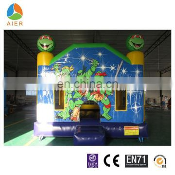Teenage Mutant Ninja Turtles inflatable bouncer,moon jumper,hot sale castle