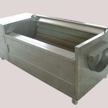 Industrial 1.1kw/380v Potato Washing And Peeling Machine