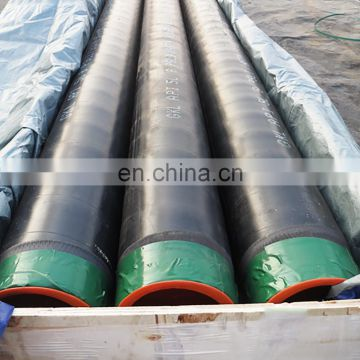 Astm a523pe coating steel pipe weight from china