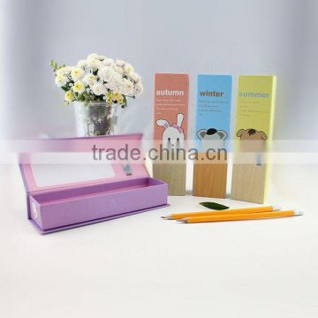 XG-2008 stationery hard pencil box paper pencil box wholesale paper pencil box