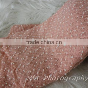 75x100cm Extra Long Stretch Knit Wraps Newborn Photo Prop Popcorn Wrap Baby Wrap Stretchy Knit Wrap