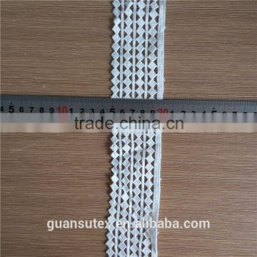 High Quality African Embroidery Lace Trim Free Sample/Chemical Lace Fabric New Arrival