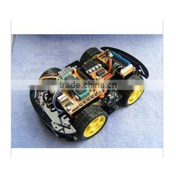 Intelligent car / ultrasonic obstacle avoidance / search / search / remote control car kit /ZK-4WD