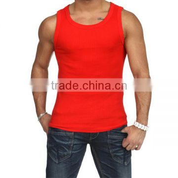 High Quality Cheap Wholesale Blank Mens Tank Tops