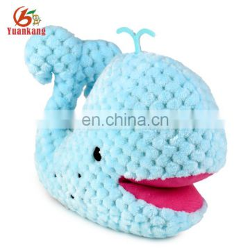 New Arrival Stuffed Blue Whale Mini Plush Sea Animal Toy for Baby Gift