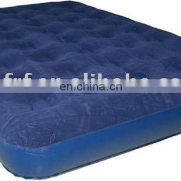 Inflatable air bed/Inflatable PVC bed/Inflatable flocked air bed