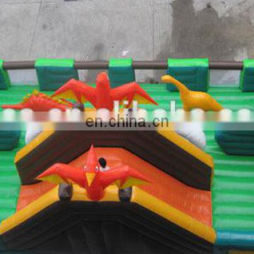 Empire giant inflatable city, outdoor inflatable playground fn044