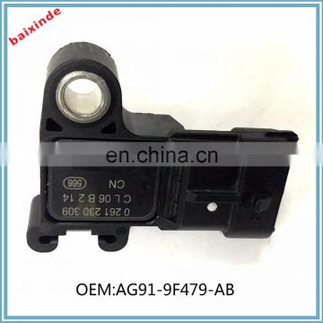 For Ford Transit Boos 2.2 TDCi 63kw Pressure Sensor MAP Mk3 AG91-9F479-AB 0261230309
