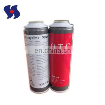 210ml Customized High Quality Wholesale Aerosol Tin Can