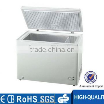 New bulk storage home white chest freezer with one basket
