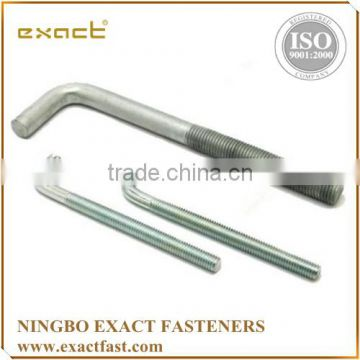 FACTORY SUPPLY HIGH QUALITY ZINC/HDG ASSEMBLED WITH WASHER AND NUT HDG ANCHOR BOLT